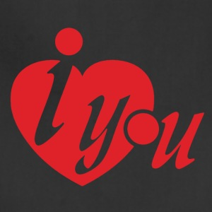 I Heart You Tshirt - Adjustable Apron