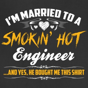 engineer married - Adjustable Apron