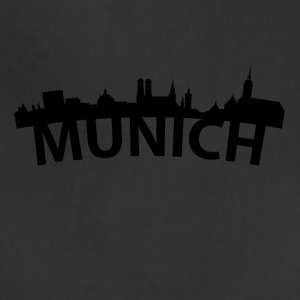 Arc Skyline Of Munich Germany - Adjustable Apron