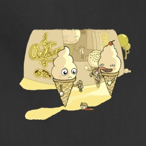 Eating ice cream in a parallel universe - Adjustable Apron