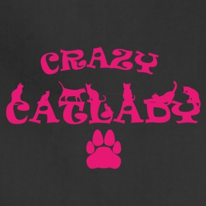 CRAZY CATLADY PINK - Adjustable Apron