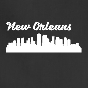 New Orleans LA Skyline - Adjustable Apron