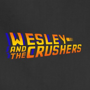 Wesley and the Crushers - BTTF Logo - Adjustable Apron
