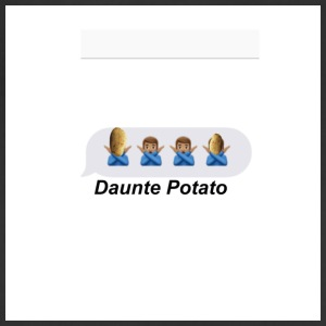 Daunte Potato - Adjustable Apron