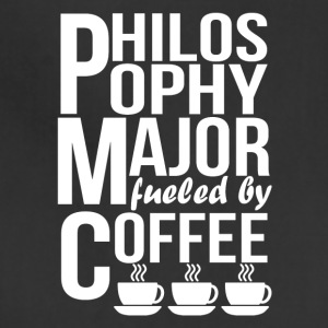 Philosophy Major Fueled By Coffee - Adjustable Apron