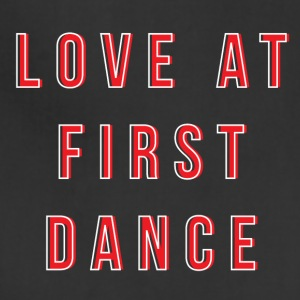 LOVE AT FIRST DANCE - Adjustable Apron