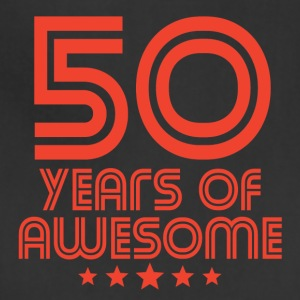 50 Years Of Awesome 50th Birthday - Adjustable Apron
