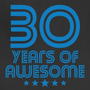 30 Years Of Awesome 30th Birthday - Adjustable Apron