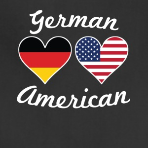 German American Flag Hearts - Adjustable Apron
