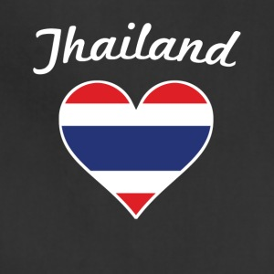 Thailand Flag Heart - Adjustable Apron