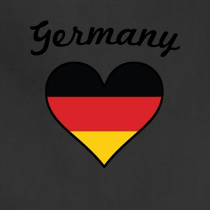 Germany Flag Heart - Adjustable Apron