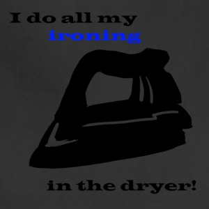 Ironing in the Dryer - Adjustable Apron