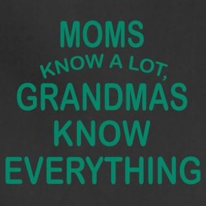 grandmas know everything - Adjustable Apron