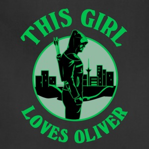 This Girl Loves Arrow. Oliver Queen - Adjustable Apron