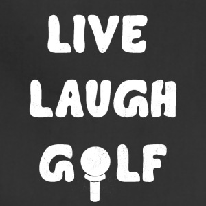 LIVE LAUGH GOLF - Adjustable Apron