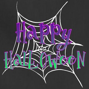 Happy Halloween spider net - Adjustable Apron
