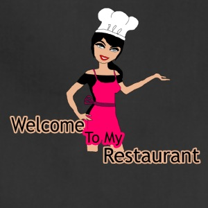 welcome to my restaurant - Adjustable Apron