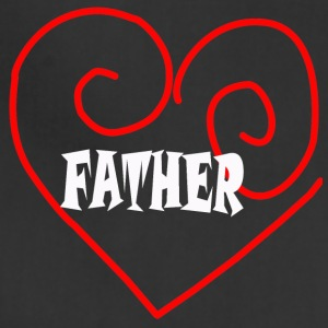LOVE FATHER TEE - Adjustable Apron