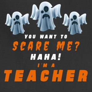 Halloween. Scare Me? Teacher. Teach. School. Oct - Adjustable Apron