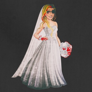 Evil Bride in Funny Horror Wedding - Adjustable Apron