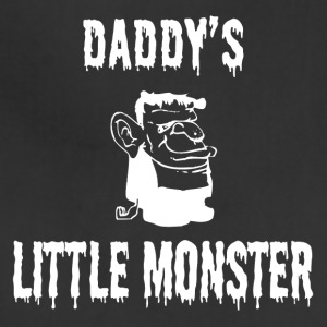 Halloween Shirt/Hoodie/Tank Gift- Daddy's Monster - Adjustable Apron