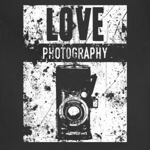 LOVE PHOTOGRAPHY - Adjustable Apron