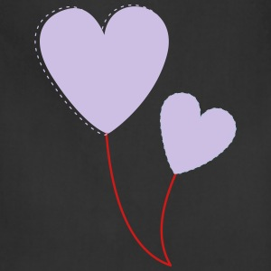 hearts balloons - Adjustable Apron