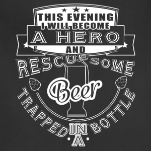 I Rescue Some Beer Trapped In A Bottle T Shirt - Adjustable Apron