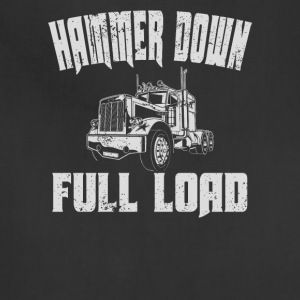 Hammer Down Full Load Trucker Shirt For Men & Women - Adjustable Apron