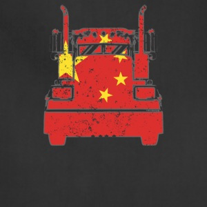 Chinese Trucker Shirt China Flag Long Haul Trucker - Adjustable Apron