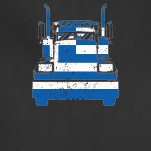 Greek Trucker Shirt Greece Flag Long Haul Trucker - Adjustable Apron