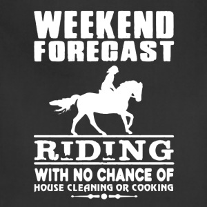 WEEKEND FORECAST RIDING TEE SHIRT - Adjustable Apron