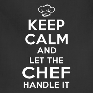 Keep calm Chef T-Shirts - Adjustable Apron