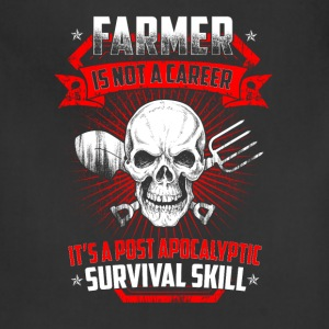 Farmer is not a career T Shirts - Adjustable Apron