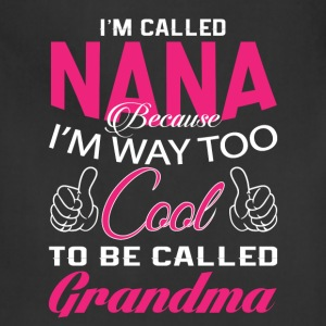 I'M CALLED NANA - Adjustable Apron