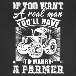 To marry a Farmer T Shirts - Adjustable Apron