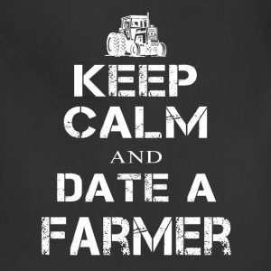 Date a Farmer T Shirts - Adjustable Apron