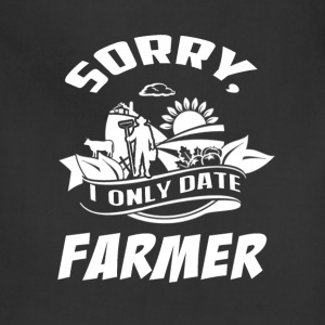 I only date Farmer T Shirts - Adjustable Apron