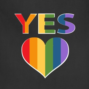 Yes to marriage equality Australia - Adjustable Apron
