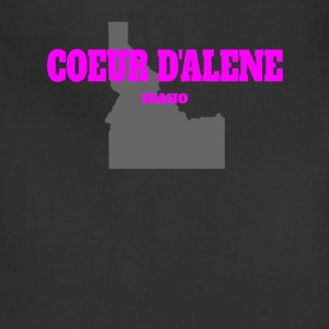 IDAHO COEUR D ALENE US STATE EDITION PINK - Adjustable Apron