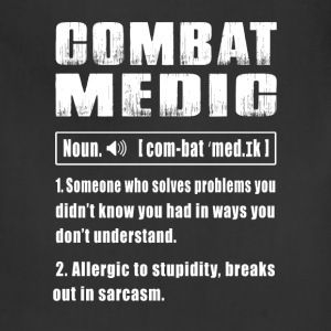 Combat Medic Noun - Adjustable Apron