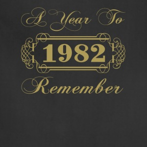 1982 A Year To Remember - Adjustable Apron