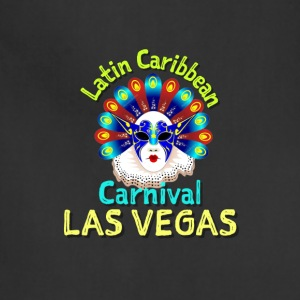 Latin caribbean carnival Las vegas design shirt - Adjustable Apron