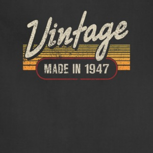 Vintage MADE IN 1947 - Adjustable Apron