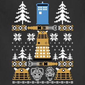 Doctor Who Ugly Sweater T-Shirt - Adjustable Apron