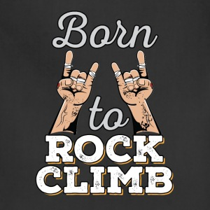 Born to Rock - Rock Climbing - Adjustable Apron