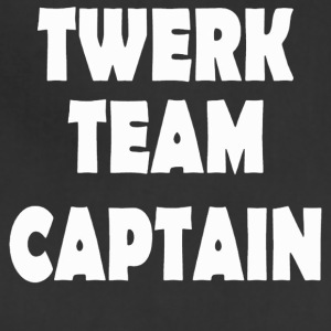 twerk team captain - Adjustable Apron
