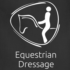 Equestrian_Dressage_white - Adjustable Apron