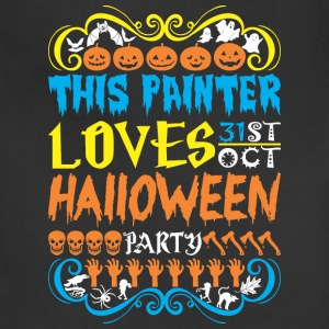 This Painter Loves 31st Oct Halloween Party - Adjustable Apron