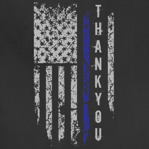 Thank You Thin Blue Line T Shirt - Adjustable Apron